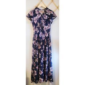 Jessy B Floral Maxi Dress